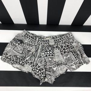 5 for $25 Billabong Aztec Print Flowy Shorts